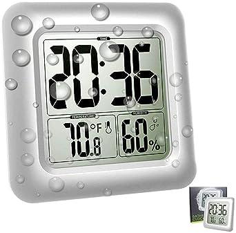 Explore Clocks For Bathrooms Amazon Com