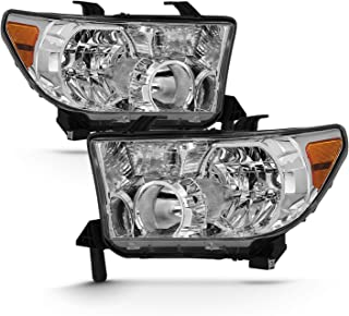 Fits 2007-2013 Toyota Tundra + 2008-2013 Sequoia Original Manufacturer Style Headlight Assembly Pair
