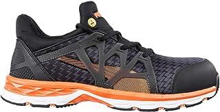 PUMA Safety Unisex PU633870-46 Track and Field Shoe, Nero/Arancione, 13 UK
