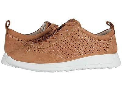 ECCO Flexure Runner Perf Sneaker (Cashmere Cow Nubuck) Women