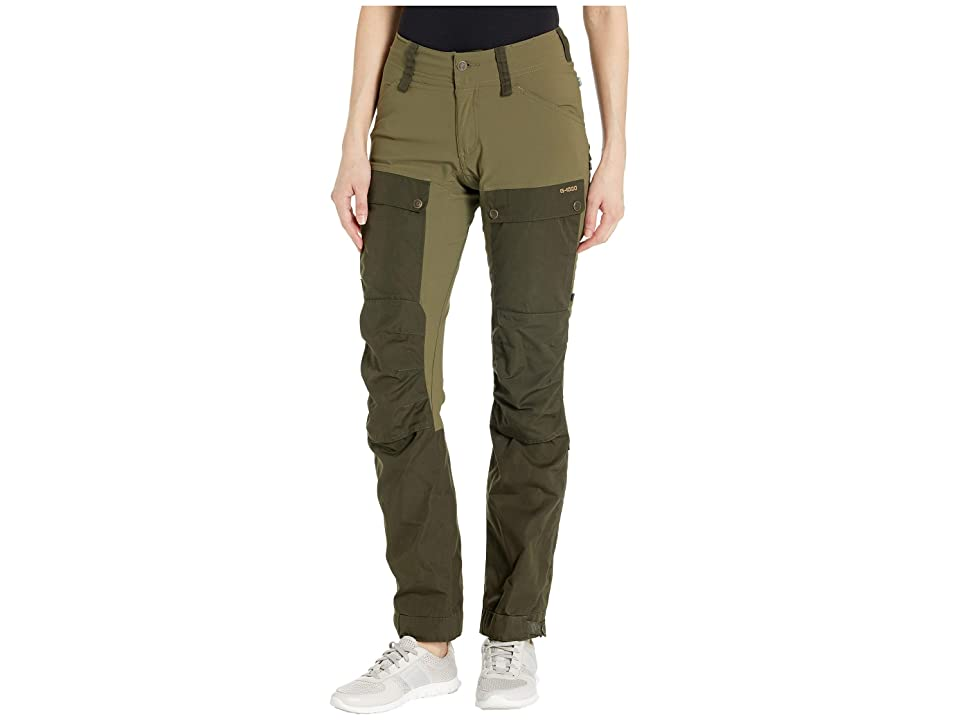 Fjallraven Keb Trousers (Deep Forest/Laurel Green) Women