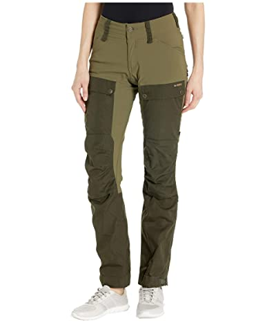 Fjallraven Keb Trousers (Deep Forest/Laurel Green) Women