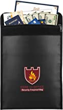 "Fireproof Money & Document Bag, MoKo 15"" x 11"" Fire & Water Resistant.."