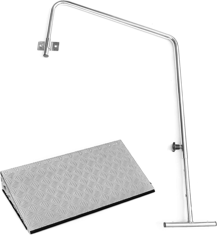 2,5 cm porta rampa con bordo striscia e rotaia Rampa porta