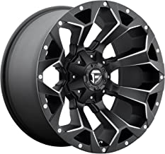FUEL Assault NB -BLK MIL Wheel with Painted (18 x 9. inches /8 x 180 mm, 20 mm Offset)