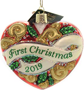 Old World Christmas 2019 First Christmas Heart