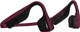 AfterShokz Trekz Titanium Wireless Bone Conduction Headphones Bluetooth Sweatproof Earphones with Mic for Sports, Canyon Red