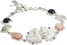 Set Stone Link Bracelet