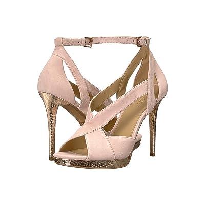 MICHAEL Michael Kors Becky Ankle Strap (Soft Pink) Women