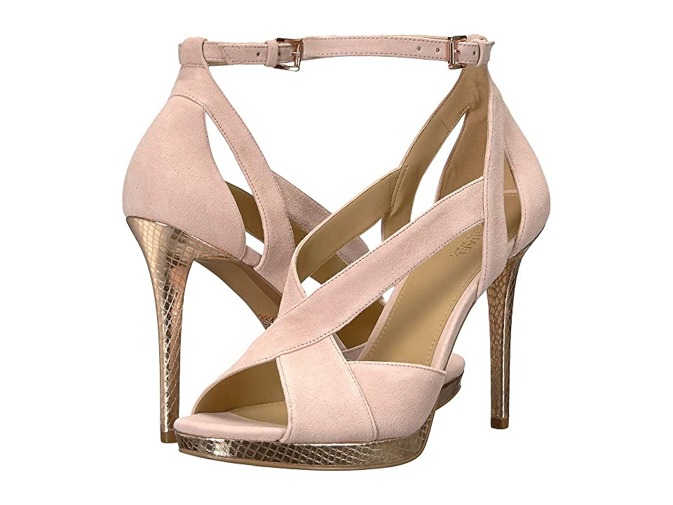 MICHAEL Michael Kors Becky Ankle Strap (Soft Pink) Women