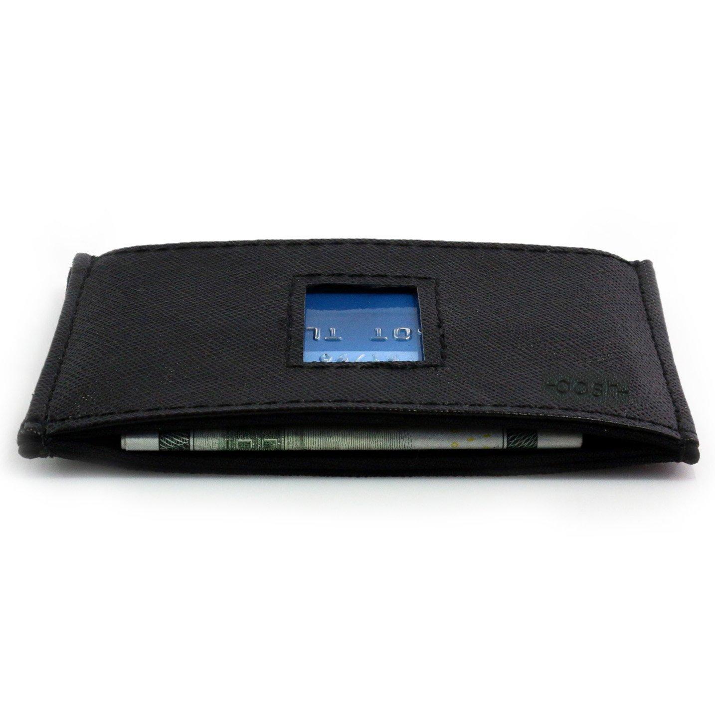 Dash RFID Wallet Horizontal Black