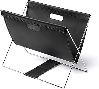 イーサプライ 収納ボックス 荷物入れ カバン入れ 机下収納 テレワーク PVCレザー 折りたたみ ブラック EZ2-CB021BK