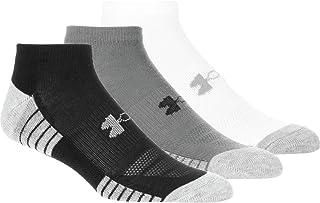 Under Armour unisex-adult Heatgear Tech No Show Socks, 3-pairs