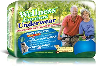 Wellness Underwear with NASA Technology, 2X-Large, Pack/11