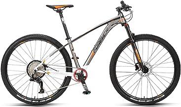 JKCKHA Bicicleta De Montaña para Adultos Sport and Expert, Ruedas De 29 Pulgadas, Cuadro De Aleación De Aluminio, Frenos Hidráulicos De Disco, Todo Terreno Bicicletas De Montaña