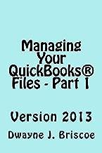 Managing Your QuickBooks® Files - Part 1
