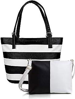 Mammon Women's Handbag with Sling Bag (Set of 2)