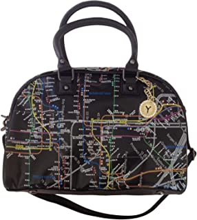 NYC Map Bowler Bag
