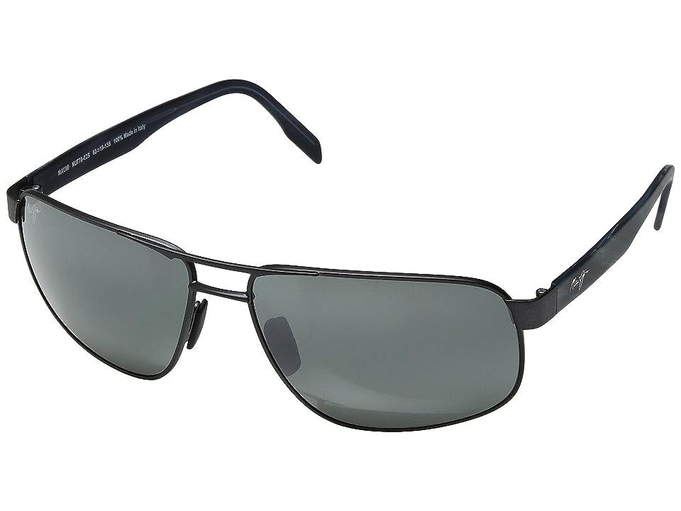 Maui Jim Whitehaven (Dark Gunmetal/Neutral Grey) Sport Sunglasses