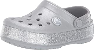 Crocs Crocband Glitter Clog Kids, Sabots Mixte Enfant