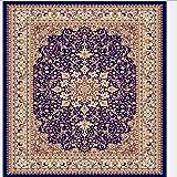 KFEKDT Nordic Rug Sofa Blanket Simple Living Room Persian Rug Bedroom Rug Bedside Blanket Non-Slip Carpet A6 200x300CM