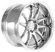AodHan DS02 Wheel - Vacuum Chrome: 18x10.5 Wheel Size; 5x114.3 Lug Pattern; 73.1mm Hug Bore; 22mm Off Set.