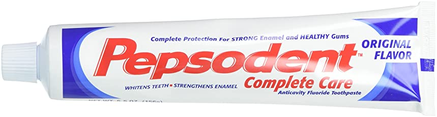 隔離微妙判定Pepsodent Complete Care Anticavity Fluoride Toothpaste, Original, 6 Count by Pepsodent