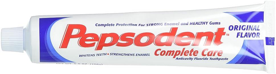 隣接騒乱絶えずPepsodent Complete Care Anticavity Fluoride Toothpaste, Original, 6 Count by Pepsodent