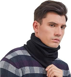 Neck Gaiter Warmer, Cotton Velvet Face Mask for Winter Outdoor Sports
