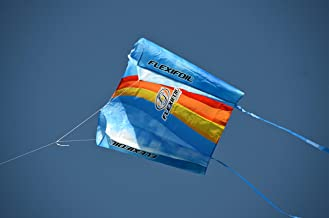 FLEXIFOIL 0.75m Large Kite Outdoor Kids Activity - 165ft Flying Line - Safe Strong Reliable Durable Summer Family Fun Toy ...