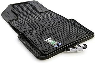 kh Teile Gummimatten 508 Original Qualität Gummi Fußmatten 4 teilig schwarz