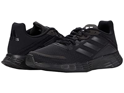 adidas Kids Duramo SL (Little Kid/Big Kid) (Core Black/Core Black/Glory Grey) Boys Shoes
