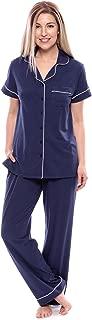 Texere Women's Jersey Short Sleeve PJs - Sleepwear Gift (Classic Slumber)