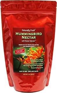 Best Sapphire Labs Naturally Fresh Hummingbird Nectar with Nectar Defender I Makes 96 oz of Clear Hummingbird Nectar | Lasts Longer in Hummingbird Feeders | an Easy Mix Hummingbird Nectar Powder Review