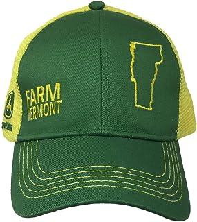 قبعة جون ديري فارم ستيت برايد باللون الأخضر والأصفر فيرمونت