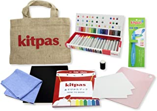 Kitpas KLTA-1 Little Artists Set-Contains a Pack of 16 Crayons, a Water Brush Pen and a How to Book