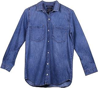 Lucky Brand Women's Boyfriend Button-up Denim Shirt