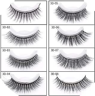 Self-sticking 3D False Eyelashes Cross Thick False Eye Lashes Extension Makeup Fake Eyelashes Extension Tools,3D-04