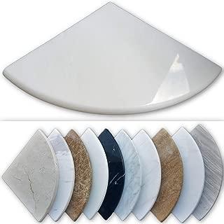 Premium Marble Corner Shelf - Shower Soap Dish - 8