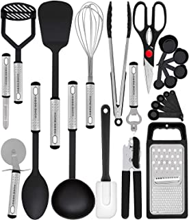 Home Hero Kitchen Utensil Set – 23 Nylon Cooking Utensils – Kitchen Utensils..