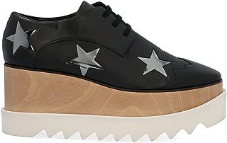 Stella McCartney Luxury Fashion Womens 363998W0YG61038 Black Lace-Up Shoes | Season Permanent