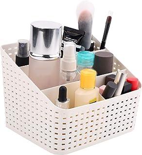 Organisateur de Maquillage,Rangement cosmétiques pour lavabo rganisateur de boîte cosmétique avec 5 compartiments Organisa...