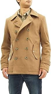 Lightweigt Melton Pea Coat Men's Outerwear ET1050