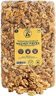 Veggy Duck - Italiaanse Natuurlijke Rauwe Walnoot Stukken (1Kg) - Premium Kwaliteit | GGO-vrij