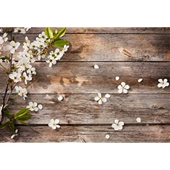 7x5 FT Photography Backgrounds Wood Love Backdrops Photo Studio Props for Valentines Day Photgraphy Decortion 11-378