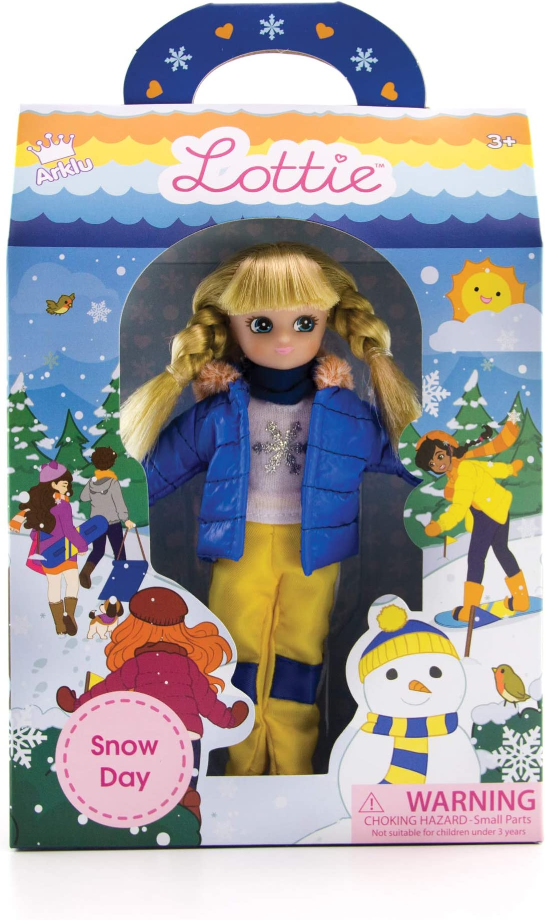 Snow Doll | Lottie Dolls Snow Day | Dolls for Girls and Boys | Snow Toys | Dolls for 5 6 7 Year Old Girls and Boys
