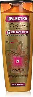 L'Oreal Paris 6 Oil Nourish Shampoo, 360ml (With 10% Extra)