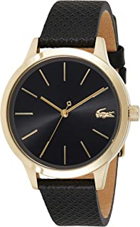 Lacoste Womens Quartz Wrist Watch, Analog and Leather- 2001090