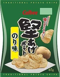 カルビー 堅あげポテト のり味 65g × 12袋