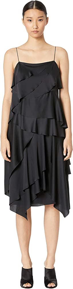 Dress Drape Layered Dress